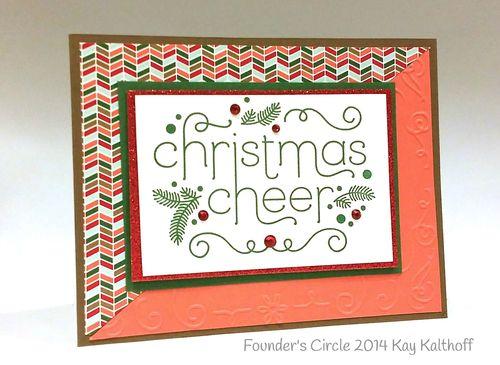 Stampin up stampin' up! stampinup stamping pretty mary fish cheerful christmas