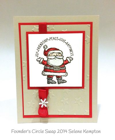 Stampin up stampin' up! stampinup stamping pretty mary fish get your santa on
