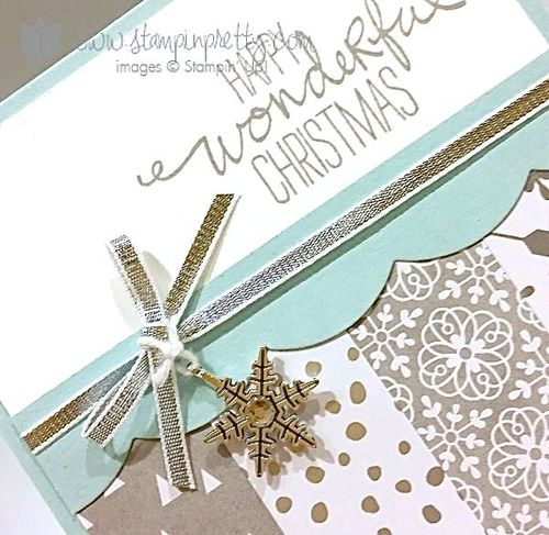 Stampin up stampin' up! stampinup stamping pretty mary fish wondrous wreath 2