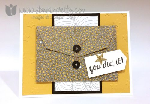 Stampin up stampin' up! stampinup stamping pretty gift card