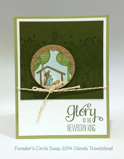 Stampin up stampin' up! stamping stamping pretty mary fish the newborn king
