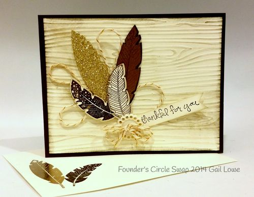 Stampin up stampin' up! stamping stamping pretty mary fish four feathers