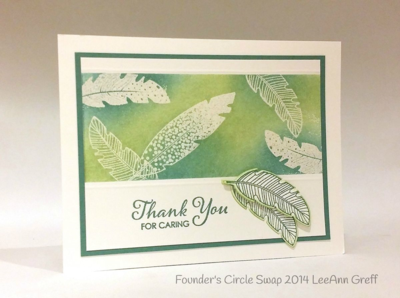 Stampin up stampin' up! stampinup stamping pretty mary fish four feathers
