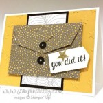 Bravo! for the Stampin' Up! Gift Card Envelope
