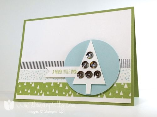 Stampin up stamping stampinup pretty mary fish festival of trees punch