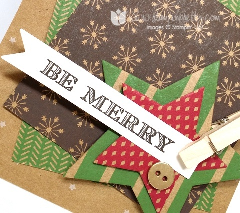 Stampin up stamping stampinup mary fish pretty holiday invitation 1
