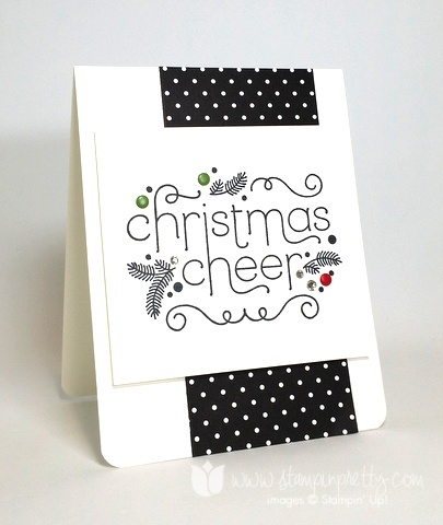 Stampin up stamping stampinup pretty mary fish cheerful christmas