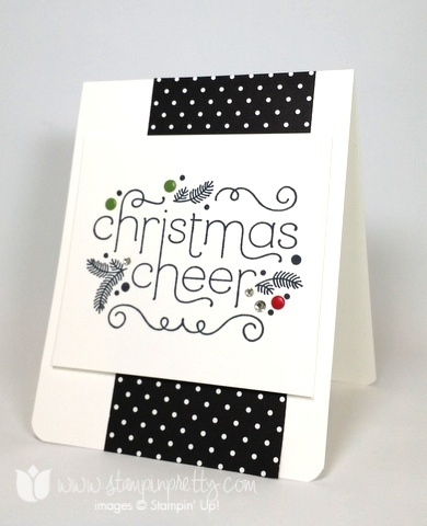 Stampin up stamping stampinup pretty mary fish cheerful christmas 2
