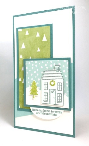 Stampin up stampin' up! stamping stampinup pretty mary fish holiday home 3