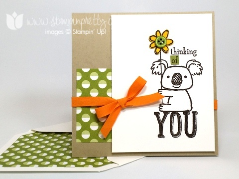 Stampin up stamping up stampinup pretty mary fish kind koala 1