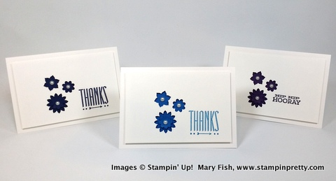 Stampin up stamping stampinup mary fish stampin pretty hip notes