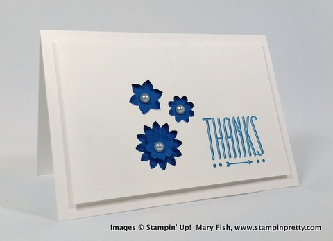 Stampinup mary fish stampin pretty hip notes 2