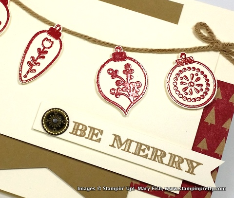 Stampin up stampinup stamping pretty mary fish cheerful christmas 4