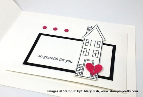 Stampin up stampinup stamping pretty mary fish holiday home 4