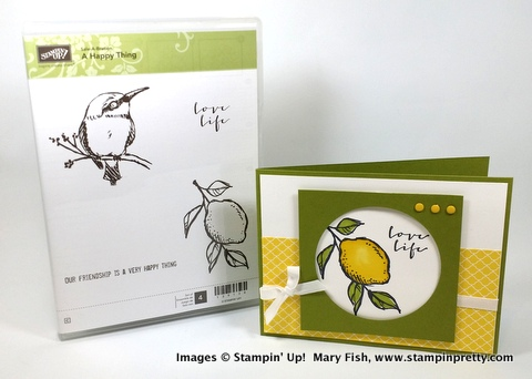Stampin' up! stampin up stamping stampinup pretty mary fish a happy thing 4