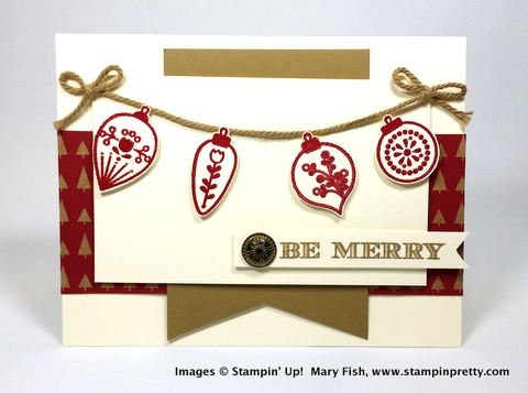 Stampin up stampinup stamping pretty mary fish cheerful christmas 3