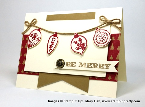 Stampin up stampinup stamping pretty mary fish cheerful christmas 2