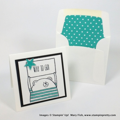 Stampin up stampin' up! stamping stampinup mary fish pretty cheerful critters 6