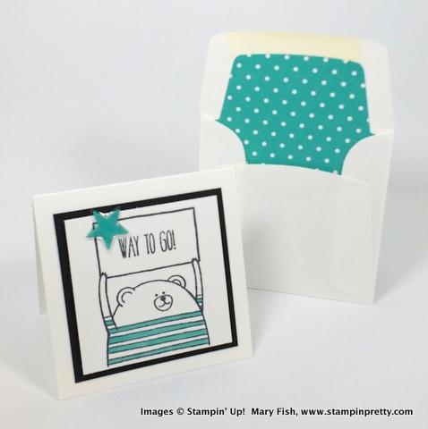 Stampin up stampin' up! stamping stampinup mary fish pretty cheerful critters 6