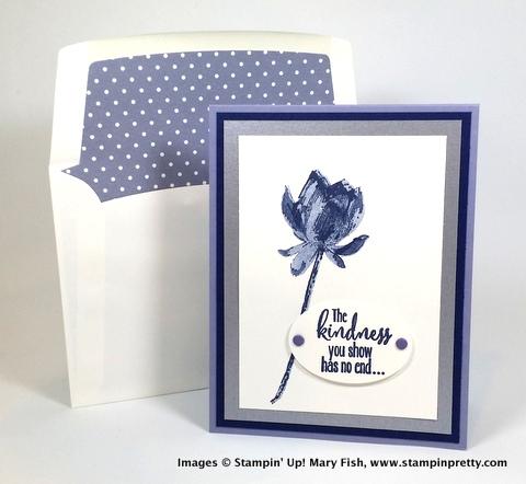 Stampin up stampin' up! stamping stampinup mary fish lotus blossom
