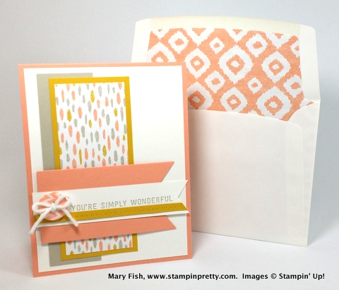 Stampin up stampin' up! stampinup stamping pretty mary fish simply wonderful 6