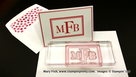 Stampin up stampinup stampin pretty stamping mary fish sophisticated serifs
