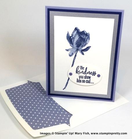 Stampin up stampin' up! stamping stampinup mary fish lotus blossom 1