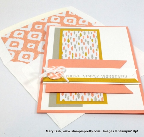 Stampin up stampin' up! stampinup stamping pretty mary fish simply wonderful 7