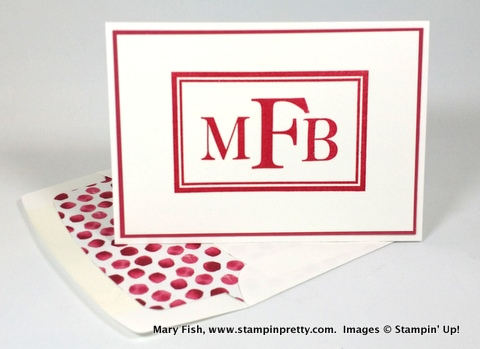Stampin up stampinup stampin pretty stamping mary fish sophisticated serifs 1
