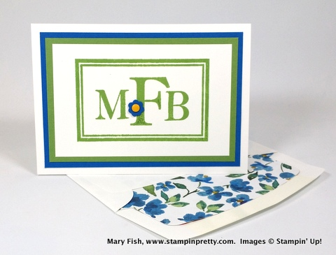 Stampin up stampinup stampin pretty stamping mary fish sophisticated serifs 3