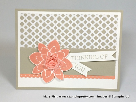 Stampin up stampin' up! stamping up stampinup crazy about you mary fish 1