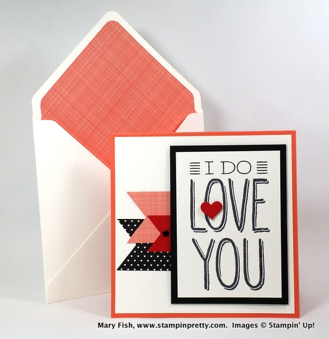 Stampin up stampinup stamping pretty mary fish big on you valentine 3