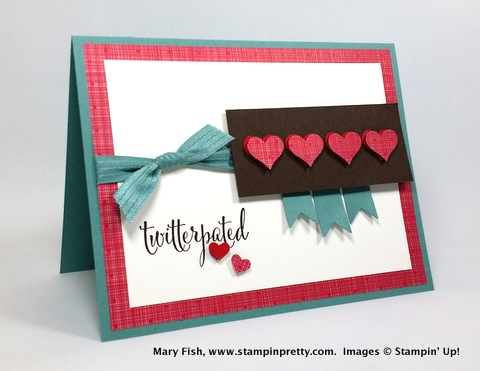 Stampin up stampin' up! stamping stampinup pretty mary fish you plus me 1