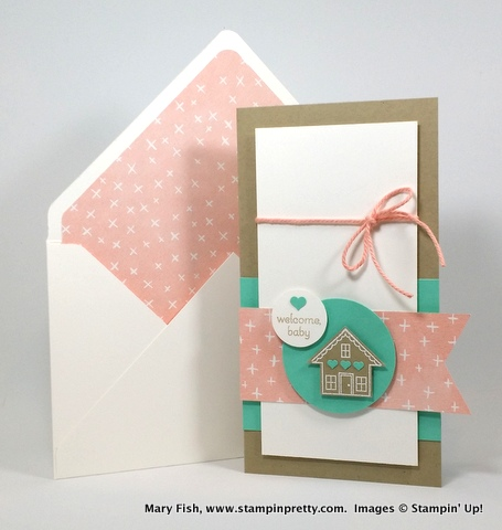 Stampin up stampinup stampin pretty mary fish you brighten my day