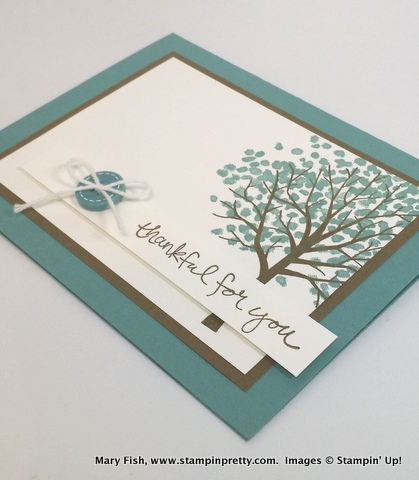 Stampin up stamping pretty stampinup mary fish sheltering tree 2