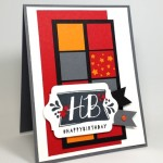 Simple Masculine Birthday Card!