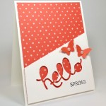 5 Minute Hello Spring Card!