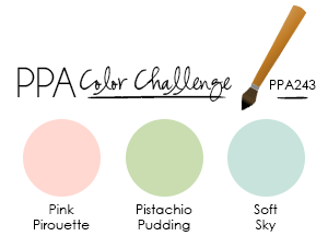My Colors Were Inspired By This Weeks Pals Paper Arts Color Challenge PPA243 Check Out What The Rest Of Resident Artists Have