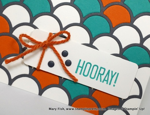 Stampinup stamping pretty hooray its your day 1