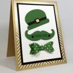 A Wee Bit of Punch Art–St. Patrick's Day Idea!