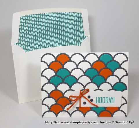 Stampinup stamping pretty hooray its your day 2