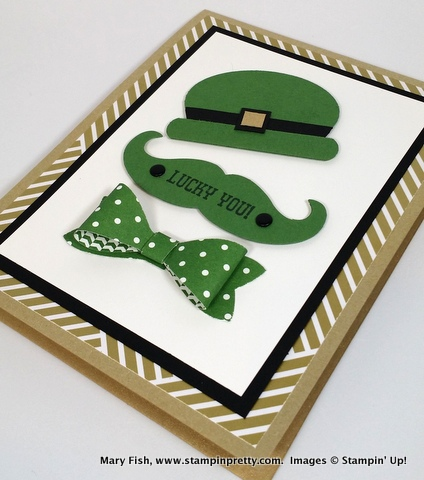 Stampin up stampinup stamping pretty mary fish st patricks day 3