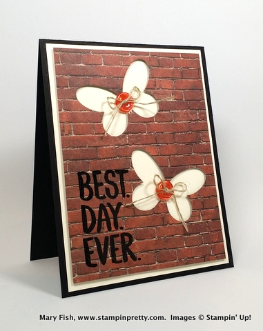Stampin up stampinup mary fish best day ever adventure awaits