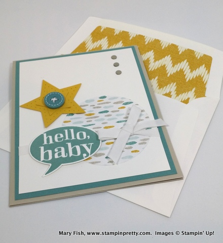Stampin up stampinup mary fish little sunshine 4