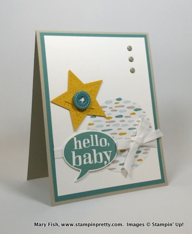 Stampin up stampinup mary fish little sunshine 1