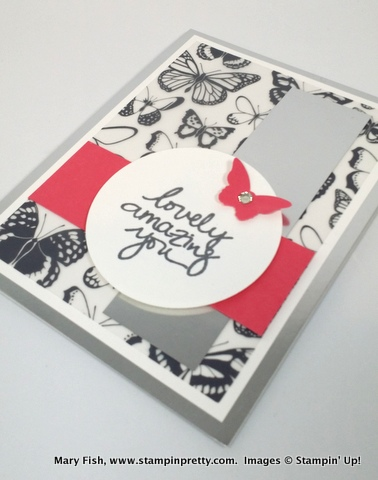 Stampin up stampinup stamping pretty mary fish sheer perfection vellum 3