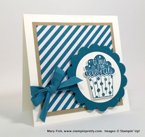 Stampin pretty, mary fish, cupcake party stampin up 3