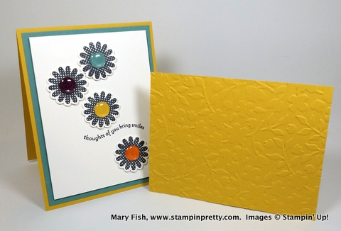 Stampin up stampinup stamping pretty mary fish polka dot pieces 3