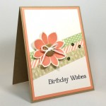 "Stampin' Up! Birthday Wishes ""Four"" You!"