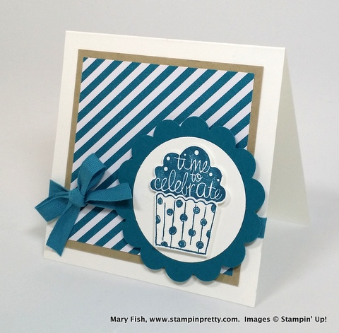 Stampin pretty, mary fish, cupcake party stampin up 2
